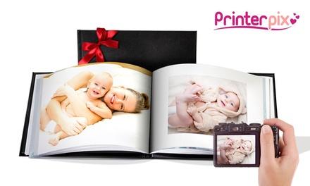 Kunstleder Hardcover Fotobuch im Format nach Wahl mit bis zu 100 Seiten bei Printerpix (bis zu 93% sparen*)